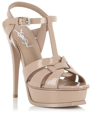 Sandales en cuir verni Tribute 105 SAINT LAURENT PARIS
