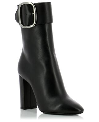 Baby Horse leather ankle boots SAINT LAURENT PARIS