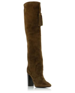 Bottes en daim Meurice 105 Tassel SAINT LAURENT PARIS