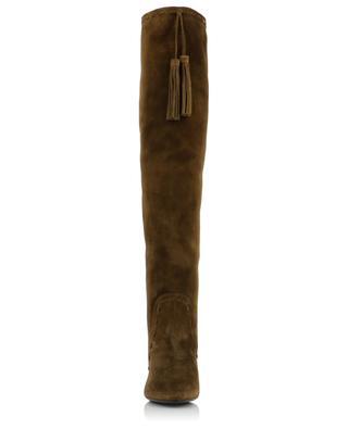 Meurice 105 Tassel suede boots SAINT LAURENT PARIS