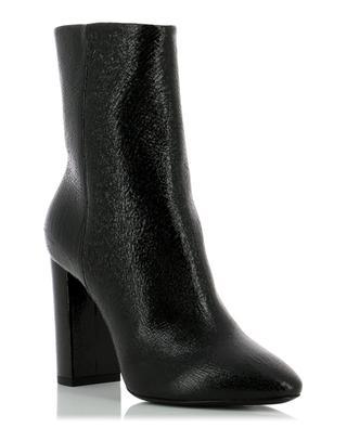Loulou patent leather ankle boots SAINT LAURENT PARIS