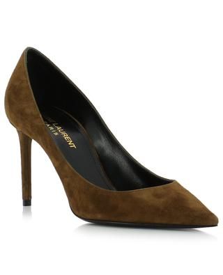 Zoe suede pumps SAINT LAURENT PARIS