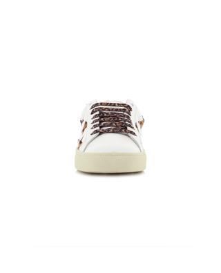 Sneakers aus Leder und Kalbshaar Court Classic SAINT LAURENT PARIS