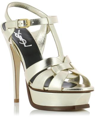 Tribute leather sandals SAINT LAURENT PARIS