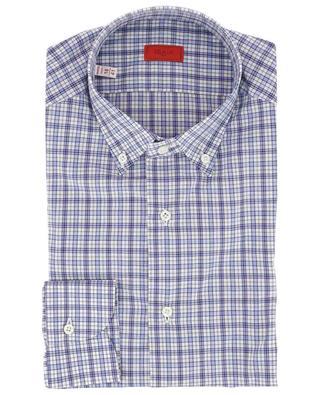 Monza BD Mix check shirt ISAIA