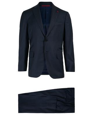Anzug aus Wolle 160S Aquaspider ISAIA