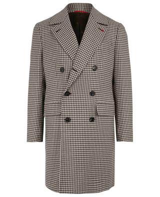 Natural Black Sheep wool coat ISAIA
