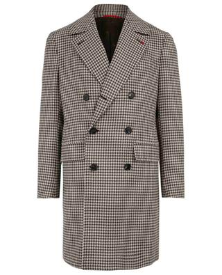 Manteau en laine Natural Black Sheep ISAIA