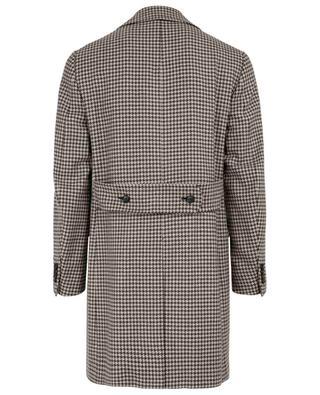 Mantel aus Wolle Natural Black Sheep ISAIA