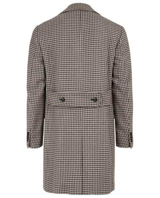 Natural Black Sheep wool coat ISAIA