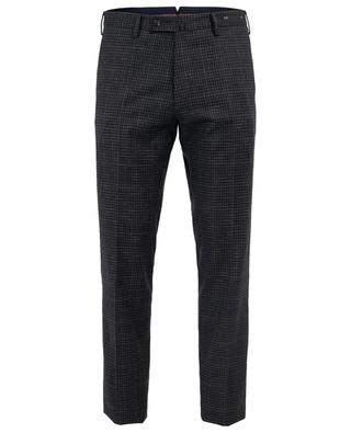 Virgin wool and cotton blend trousers PT01