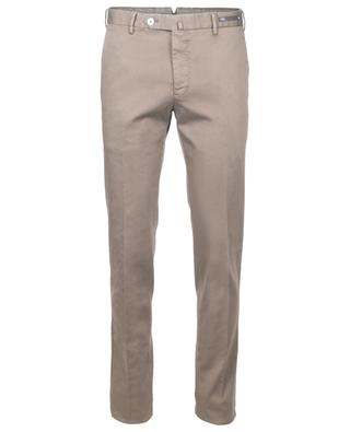 Cotton blend pleated trousers PT01