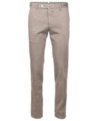Bundfaltenhose aus Baumwollmix PT01