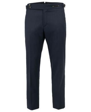 Evo Fit wool blend slim fit trousers PT01