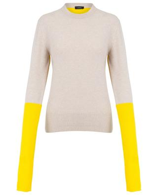 Double knit bicolour jumper JOSEPH