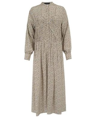 Jamie printed long dress JOSEPH
