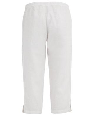 Cropped linen trousers 120% LINO