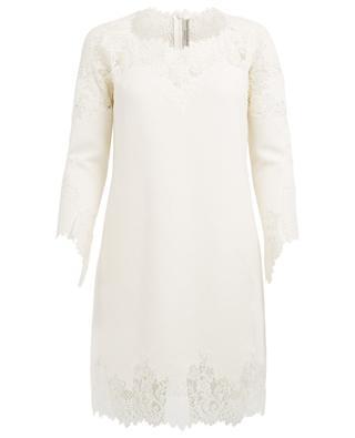 Kleid aus Wolle, Seide und Kaschmir ERMANNO SCERVINO