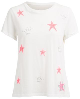 T-Shirt aus Baumwolle und Modal PRINCESS