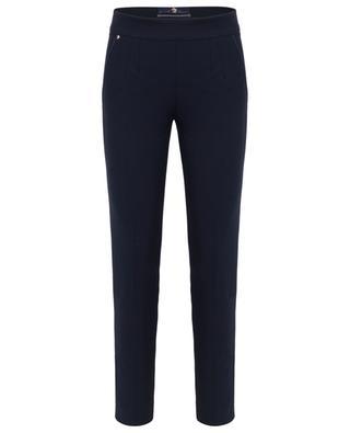 Sim fit cotton blend trousers PAMELA HENSON