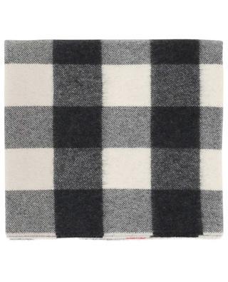 Half Mega Check cashmere scarf BURBERRY