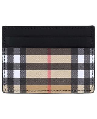 Vintage Check leather card-holder BURBERRY