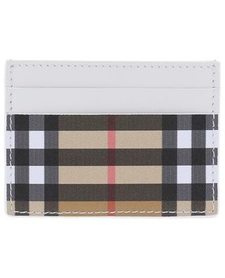 Leather card holder BURBERRY
