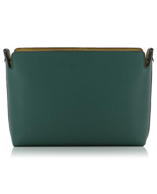 Tri-tone textured leather clutch BURBERRY