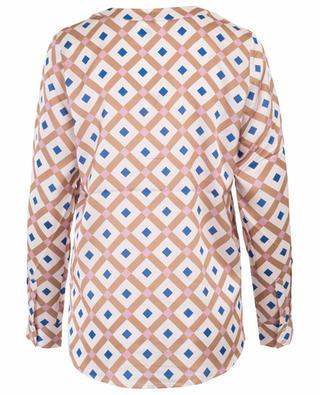 Bluse aus Seide mit Print HERZEN'S ANGELEHEIT