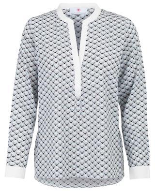 Printed silk blouse HERZEN'S ANGELEHEIT