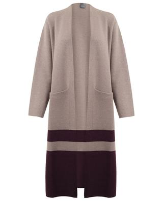 Virgin wool and cashmere knit coat LORENA ANTONIAZZI