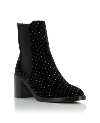 Merril glitter velvet ankle boots JIMMY CHOO