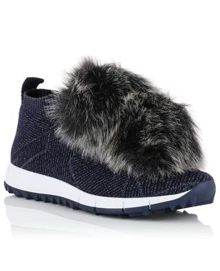 Norway faux fur sock sneakers JIMMY CHOO
