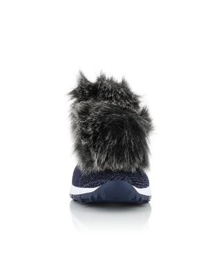 Norway faux fur sock sneakers JIMMY CHOO