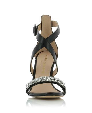 Knightsbridge Crystal leather sandals KURT GEIGER LONDON