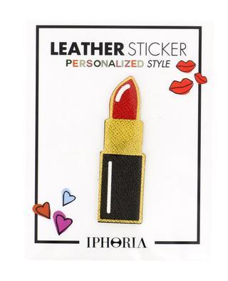 Sticker en cuir Lipstick IPHORIA