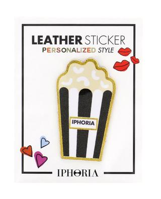 Popcorn leather sticker IPHORIA