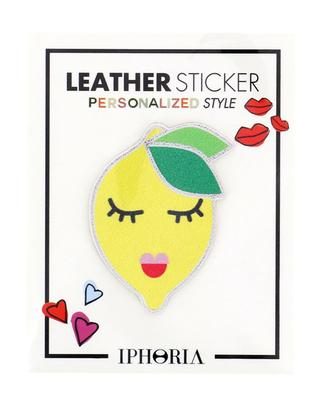Lemon leather sticker IPHORIA