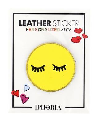 Sticker en cuir Smiley IPHORIA
