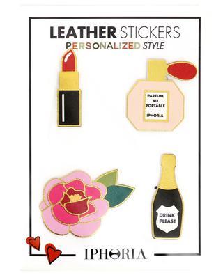 Leather stickers set IPHORIA