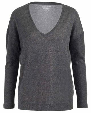 Long-sleeved cotton and cashmere T-shirt MAJESTIC FILATURES