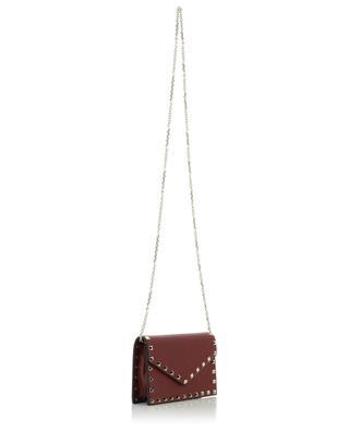 Minitasche aus genarbtem Leder Rockstud VALENTINO
