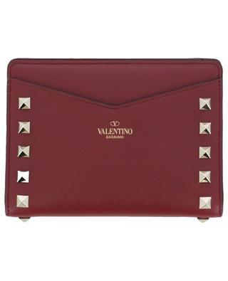 Rockstud leather wallet VALENTINO