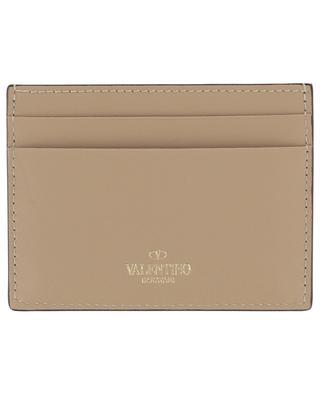 Rockstud leather card holder VALENTINO