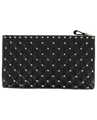 Rockstud Spike leather clutch VALENTINO