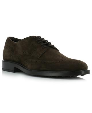 Suede derby shoes TOD'S