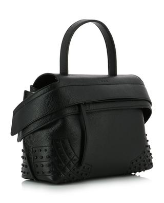 Wave Small grained leather tote bag TOD'S