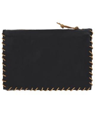 Apache Pony leather clutch LET&HER