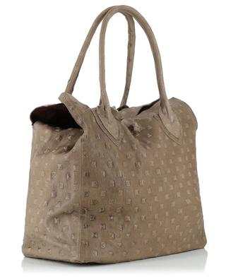 Handtasche aus Leder Medium Pyramide LET&HER