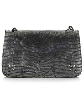 Bobi metallic leather shoulder bag JEROME DREYFUSS